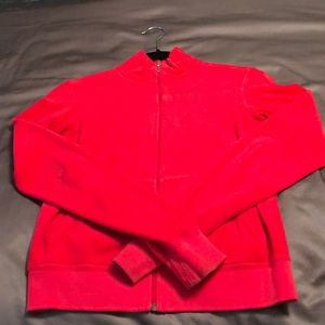 Red Juicy Couture Track Jacket